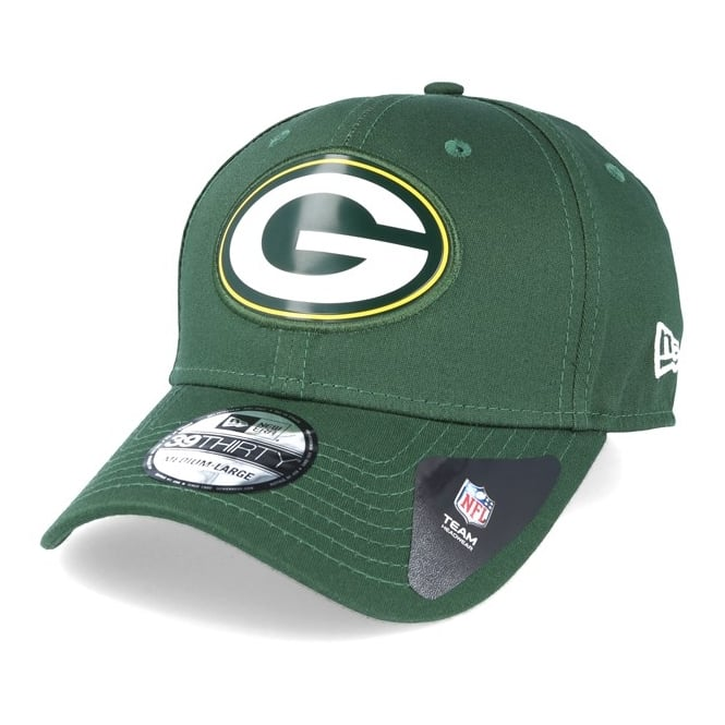New Era NFL Green Bay Packers Logo Weld 39Thirty Stretch Fit Cap