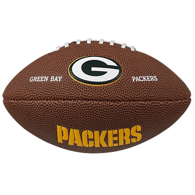 Wilson NFL Green Bay Packers Mini Soft Touch Football