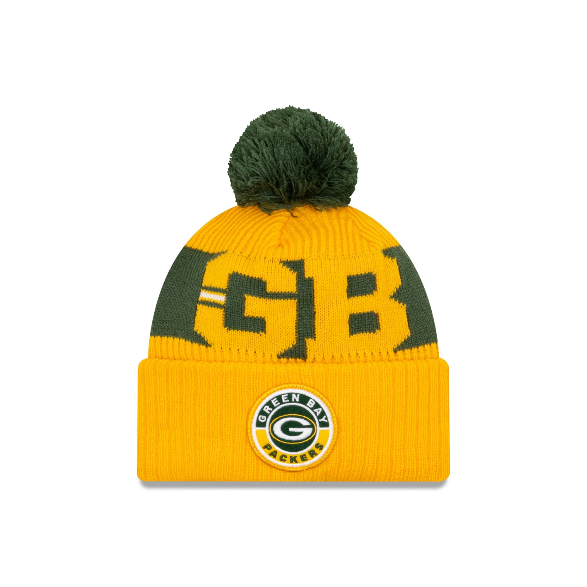 New Era Nfl Green Bay Packers Official 2020 Sideline Road Sport Knit Knits From Usa Sports Uk