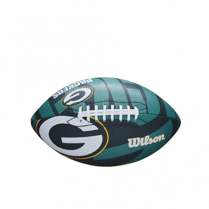Wilson NFL Green Bay Packers Team Logo Junior Football