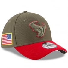 NFL Houston Texans 2017 Salute to Service 39Thirty Cap