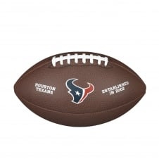 NFL Houston Texans Composite Team Logo Football