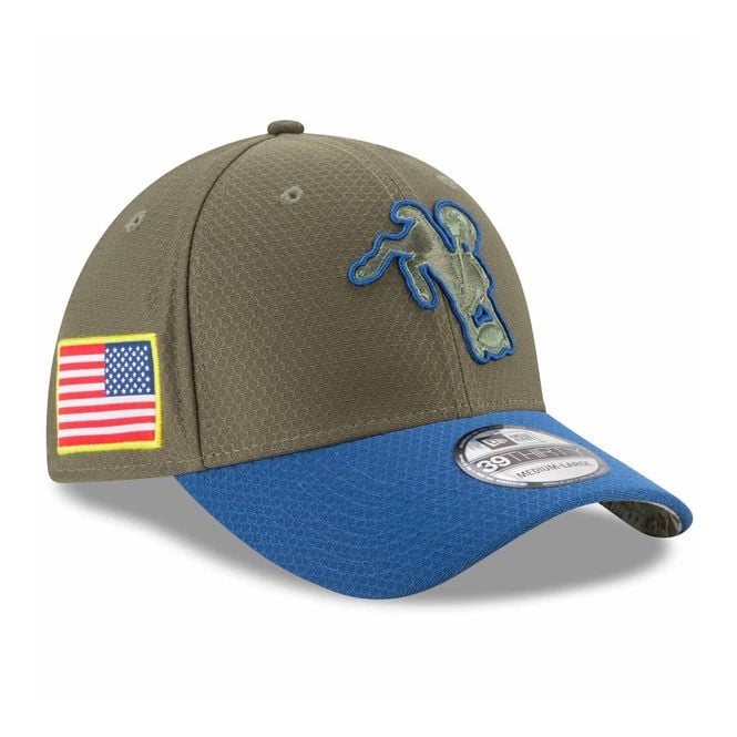 New Era NFL Indianapolis Colts 2017 Salute to Service 39Thirty Cap