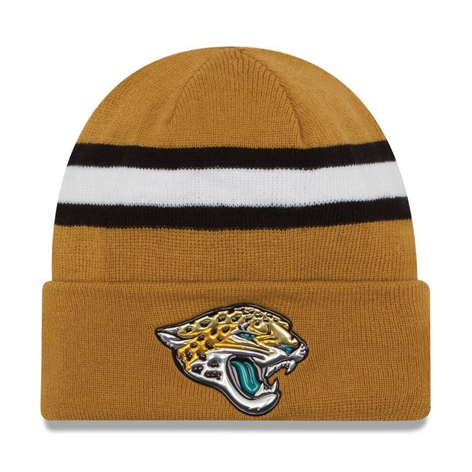 New Era NFL Jacksonville Jaguars Colour Rush On Field Cuffed Knit