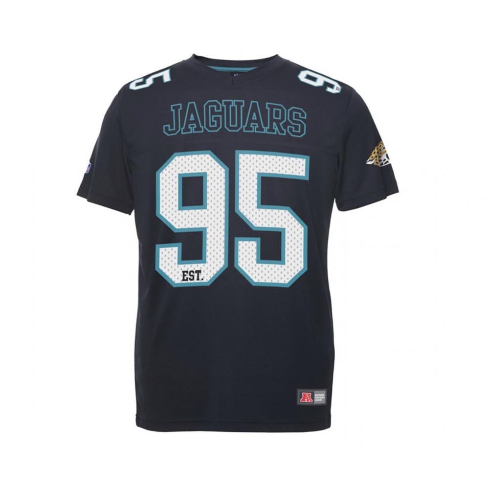 Jacksonville Jaguars Majestic NFL Polymesh Jersey Shirt