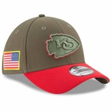 NFL Kansas City Chiefs 2017 Salute to Service 39Thirty Cap