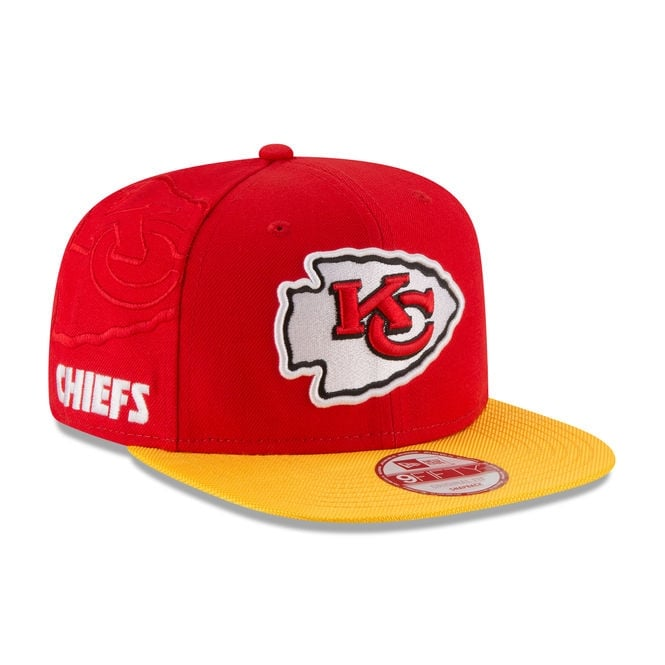 New Era NFL Kansas City Chiefs 9Fifty Sideline Snapback Cap