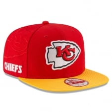 NFL Kansas City Chiefs 9Fifty Sideline Snapback Cap