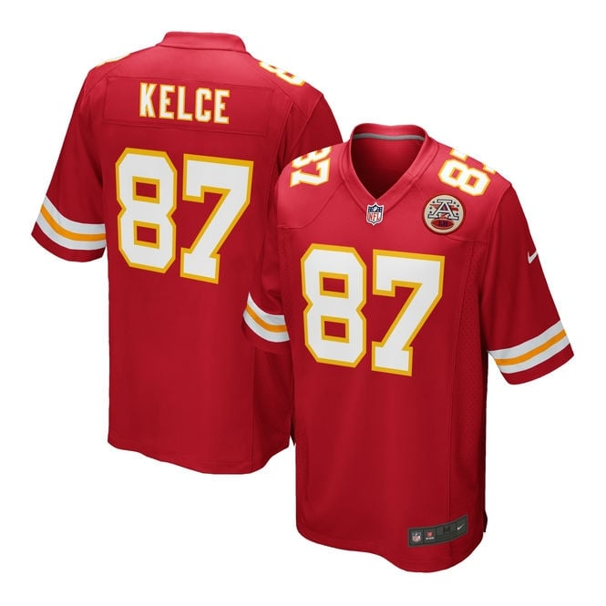 Nike NFL Kansas City Chiefs Home Game Jersey - Travis Kelce