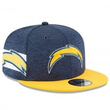 0072dde1c87 NFL Los Angeles Chargers 2018 Sideline 9Fifty Snapback
