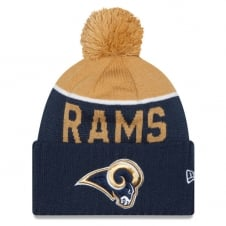 NFL Los Angeles Rams 2015 On Field Sport Knit with Pom