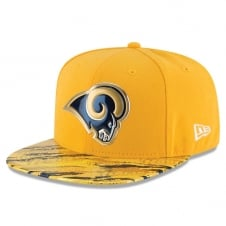 NFL Los Angeles Rams 9Fifty Colour Rush On Field Original Fit Snapback Cap