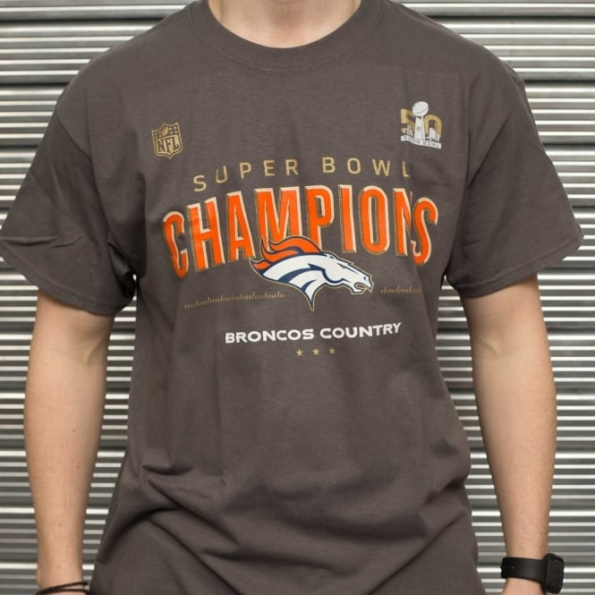 Majestic Athletic NFL Majestic Denver Broncos Super Bowl 50 Champions T-Shirt