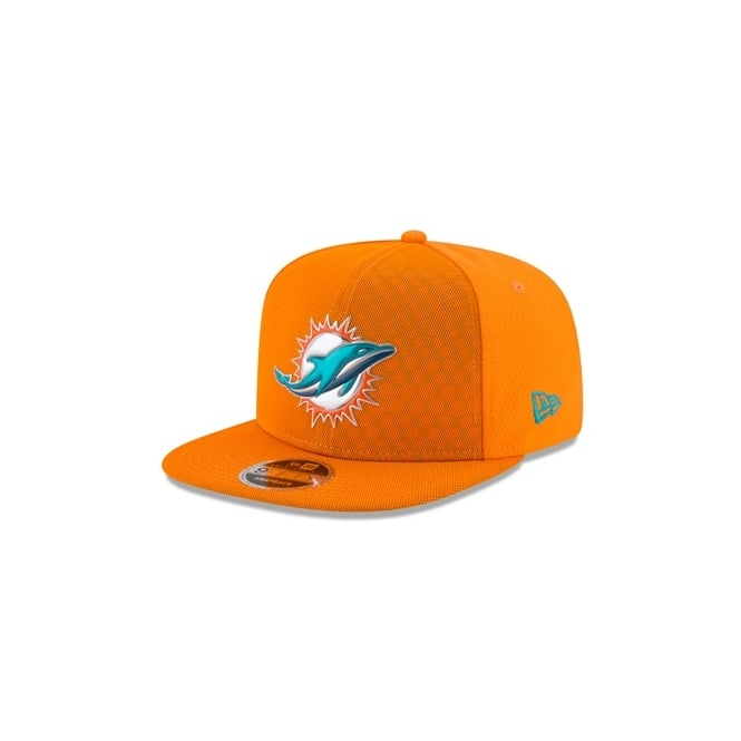 promo code 8ffed c9310 NFL Miami Dolphins 9Fifty 2017 Color Rush Original Fit Snapback Cap