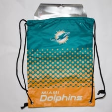 NFL Miami Dolphins Fade Drawstring Backpack