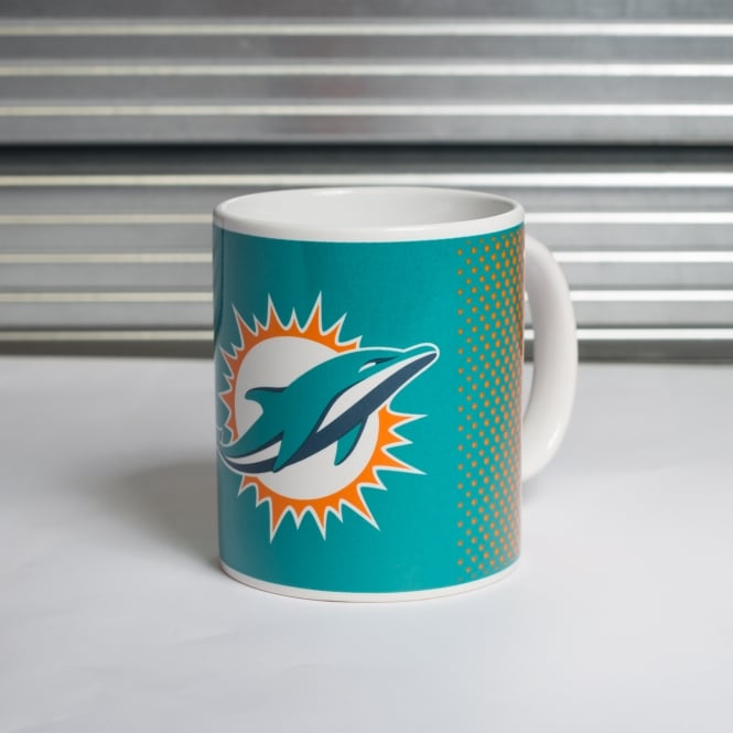 Forever Collectibles NFL Miami Dolphins Fade Mug