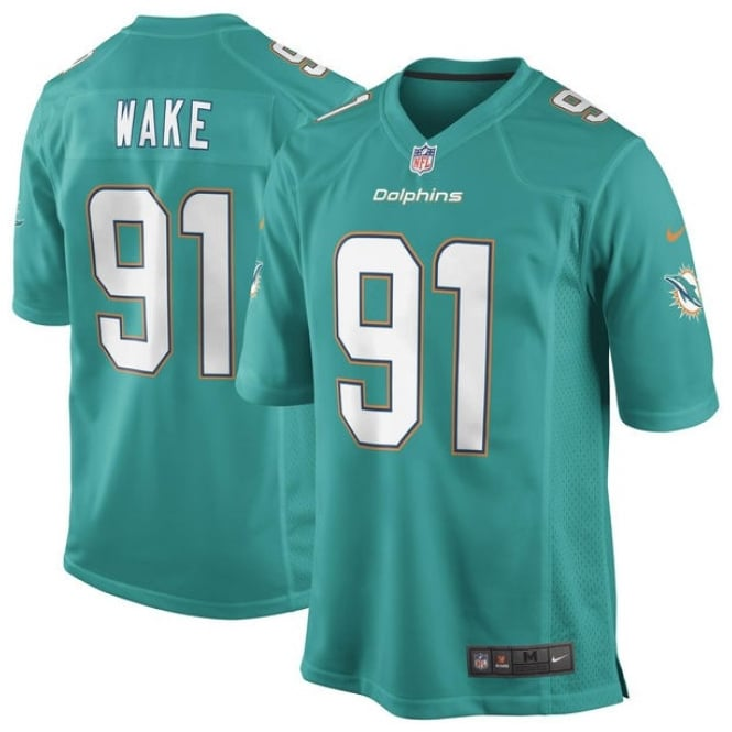 Nike NFL Miami Dolphins Home Game Jersey - Cameron Wake