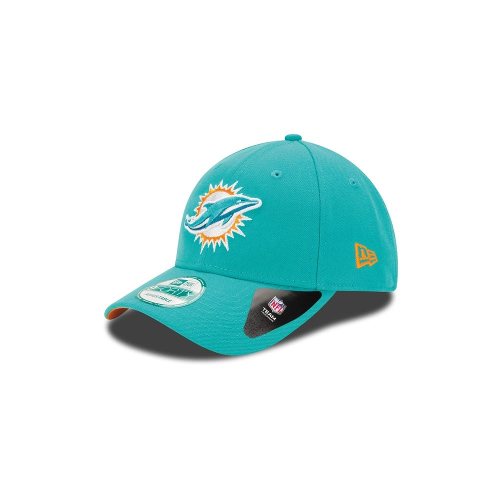 NFL LEAGUE Miami Dolphins aqua New Era 9Forty Cap