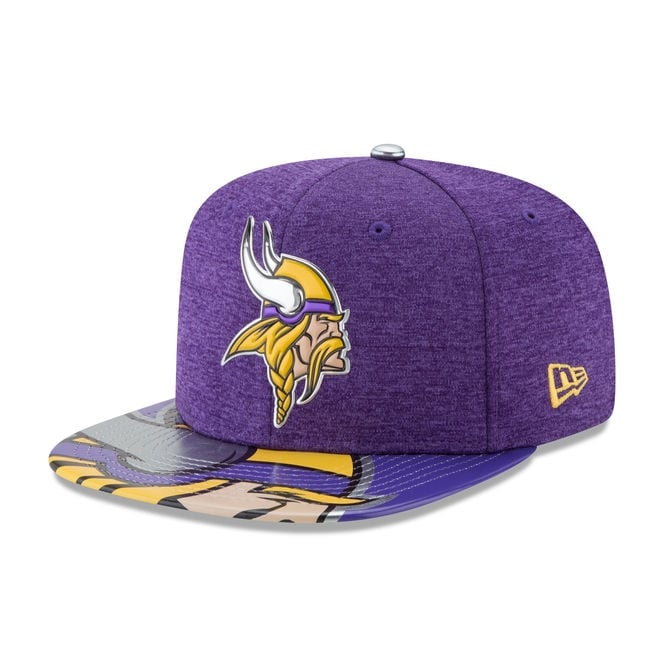 promo code 2fed8 e80e8 NFL Minnesota Vikings 2017 Draft Snapback Cap