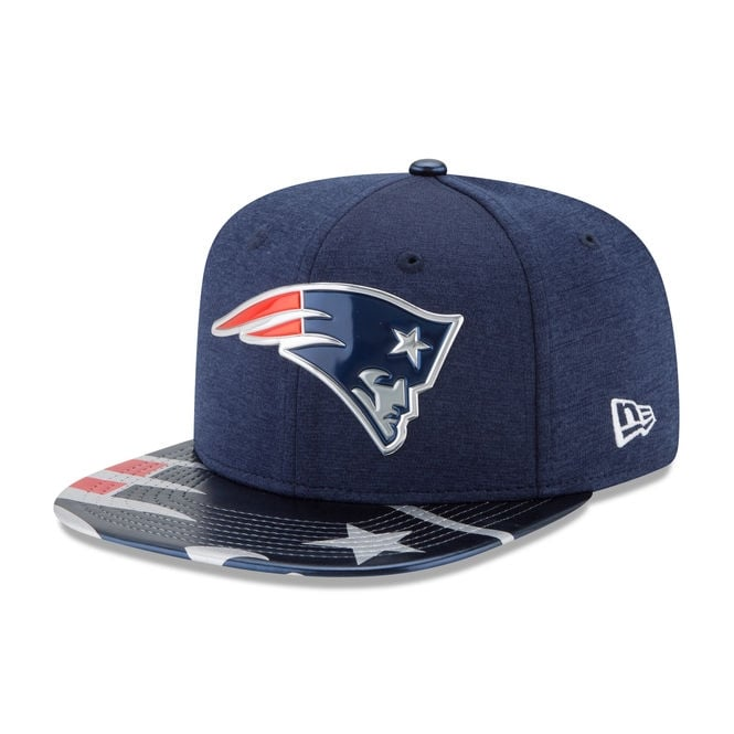 New Era NFL New England Patriots 2017 Draft 9Fifty Snapback Cap