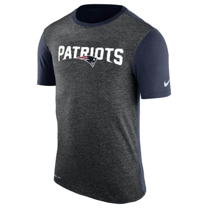 Nike NFL New England Patriots Color Dip Dri-Fit T-Shirt