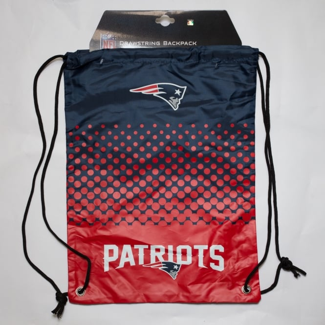 Forever Collectibles NFL New England Patriots Fade Drawstring Backpack