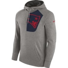 NFL New England Patriots Fly Fleece CD PO Hoodie