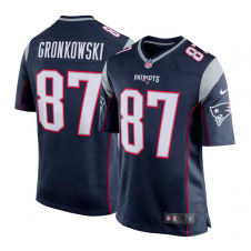 NFL New England Patriots Home Game Jersey - Rob Gronkowski