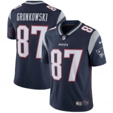NFL New England Patriots Home Vapor Untouchable Limited Jersey - Rob Gronkowski