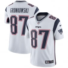 NFL New England Patriots Road Vapor Untouchable Limited Jersey - Rob Gronkowski