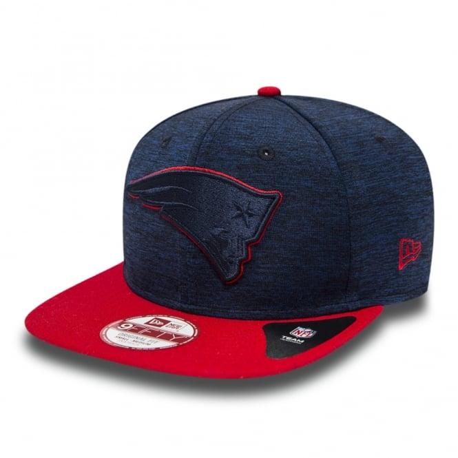 New Era NFL New England Patriots Sports Jersey 9fifty Snapback Cap ... 051783be9