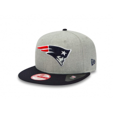 NFL New England Patriots Team Heather Mesh 9Fifty Snapback Cap