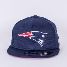 NFL New England Patriots Training Mesh 9Fifty Snapback Cap