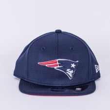 NFL New England Patriots Youth Training Mesh 9Fifty Snapback Cap