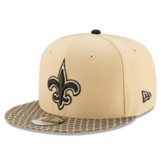 NFL New Orleans Saints 2017 Sideline 9Fifty Snapback Cap