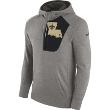 NFL New Orleans Saints Fly Fleece CD PO Hoodie