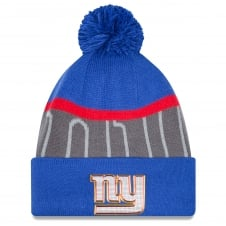 NFL New York Giants Gold Collection Pom Knit