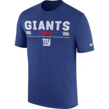 NFL New York Giants Legend On Field Staff Dri-Fit T-Shirt