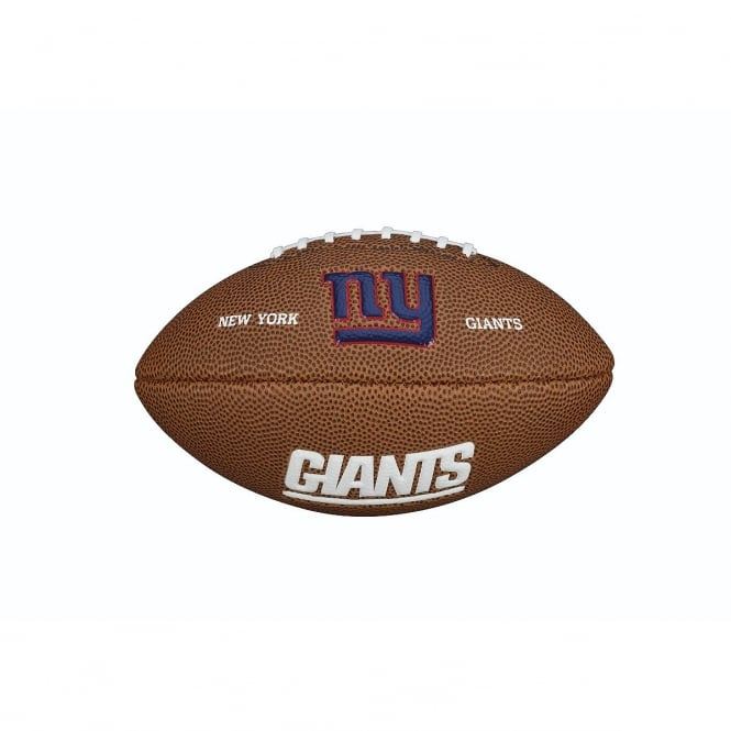 Wilson NFL New York Giants Mini Soft Touch Football