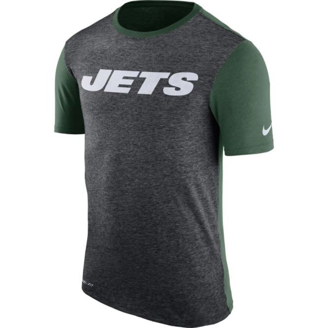 Nike NFL New York Jets Color Dip Dri-Fit T-Shirt
