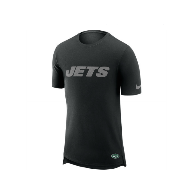 Nike NFL New York Jets Enzyme Droptail Logo T-Shirt