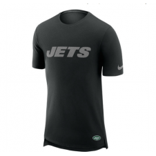 NFL New York Jets Enzyme Droptail Logo T-Shirt
