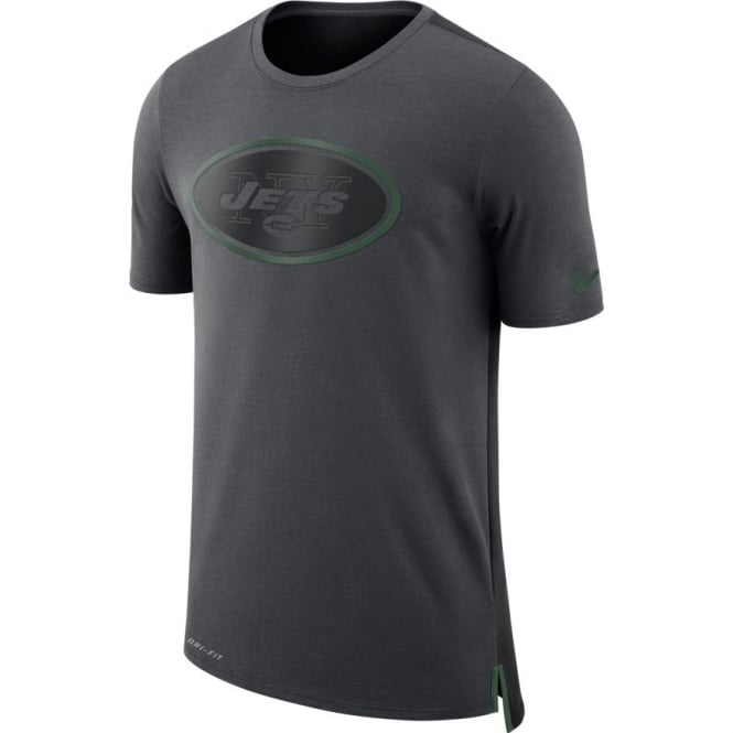 Nike NFL New York Jets Travel Mesh Dri-Fit T-Shirt
