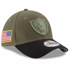 NFL Oakland Raiders 2017 Salute to Service 39Thirty Cap
