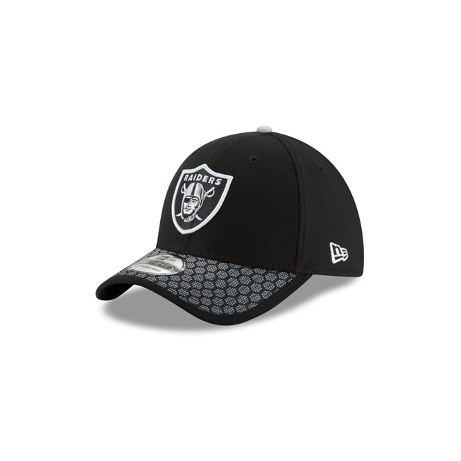 New Era NFL Oakland Raiders 2017 Sideline 39Thirty Cap - Teams from ... 80616b7e1fd4