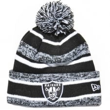 NFL Oakland Raiders Black/White Official Sport Knit