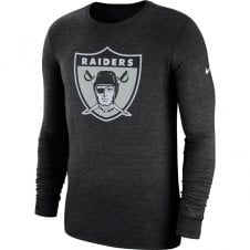 info for 32f63 7ce6d NFL Oakland Raiders Crackle Historic Tri-Blend Long Sleeve T-Shirt