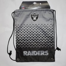 NFL Oakland Raiders Fade Drawstring Backpack