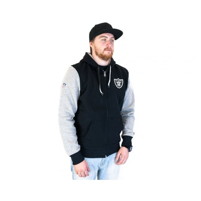 New Era NFL Oakland Raiders Full Zipped Hood