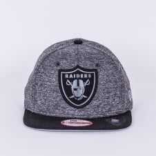 NFL Oakland Raiders Grey Collection 9Fifty Snapback Cap